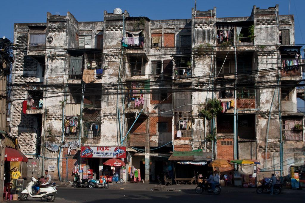 White Building Cambodia