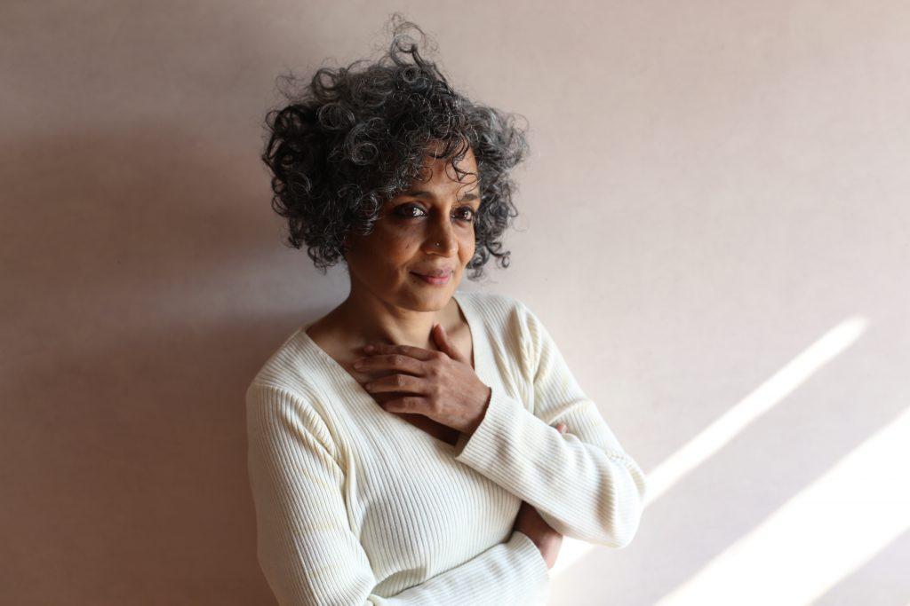 Arundhati Roy (c) Mayank Austen Soofi jacket photo