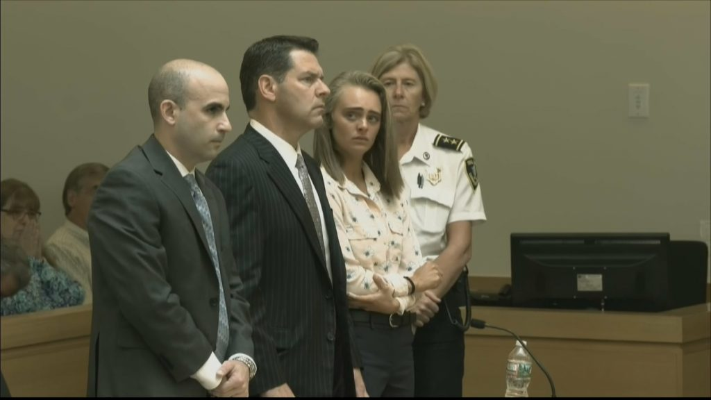 Michelle Carter was found guilty of involuntary manslaughter today, convicted for urging her boyfriend to commit suicide o...