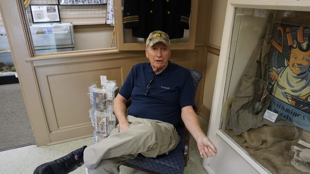 Wayne Brooks, 69, is president of the Caroline County Historical Society. Photo by Alison Thoet