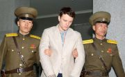 File photo of University of Virginia student Otto Warmbier by Kyodo via Reuters
