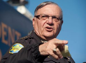 Maricopa County Sheriff Joe Arpaio announces newly launched program aimed at providing security around schools in Anthem, Arizona, U.S. January 9, 2013. REUTERS/Laura Segall/File Photo/File Photo