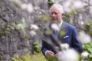Britain's Prince Charles and his wife Camilla, Duchess of Cornwall visit Glenveagh National Park during a tour to Donegal, Ireland May 25, 2016. REUTERS/Clodagh Kilcoyne - RTSFWXJ