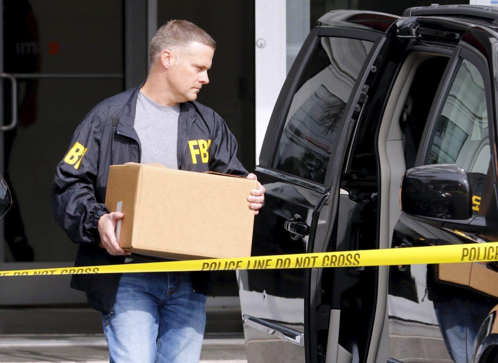 File photo of FBI agent by Joe Skipper/Reuters