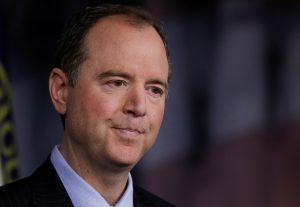 House Republicans are demanding Democrat Adam Schiff, D-Calif., resign as the House Intelligence Committee chairman. Photo by Jim Bourg/Reuters