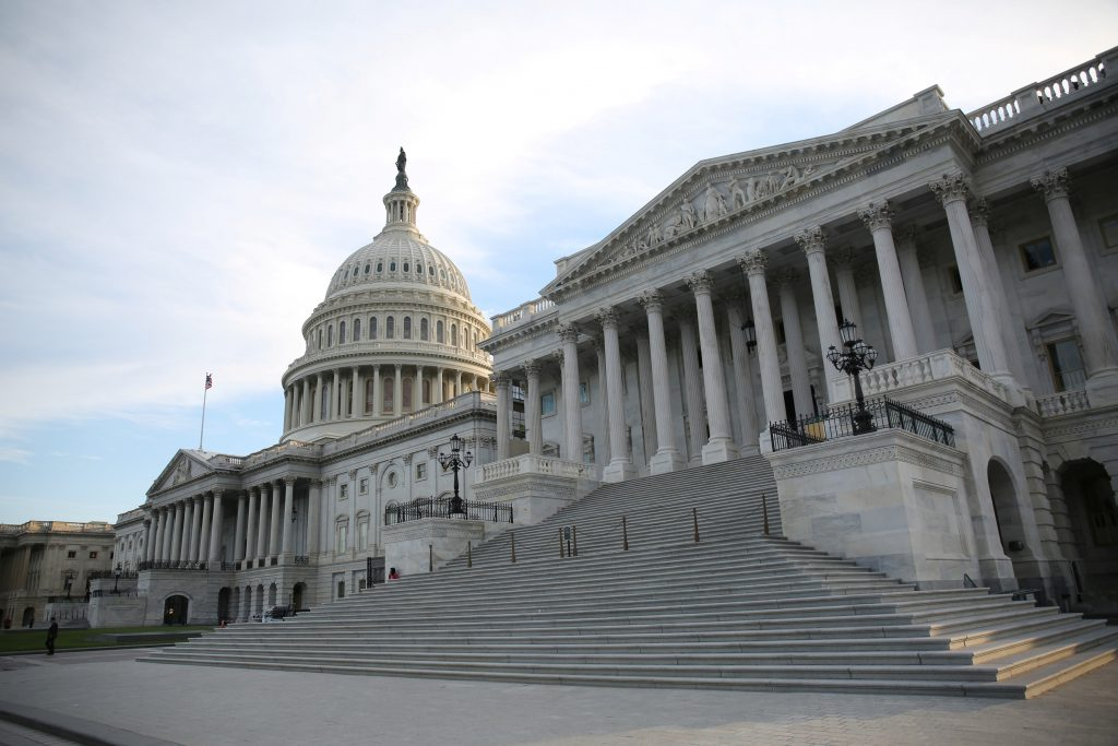 File photo of the U.S. Capitol by Zach Gibson/Reuters