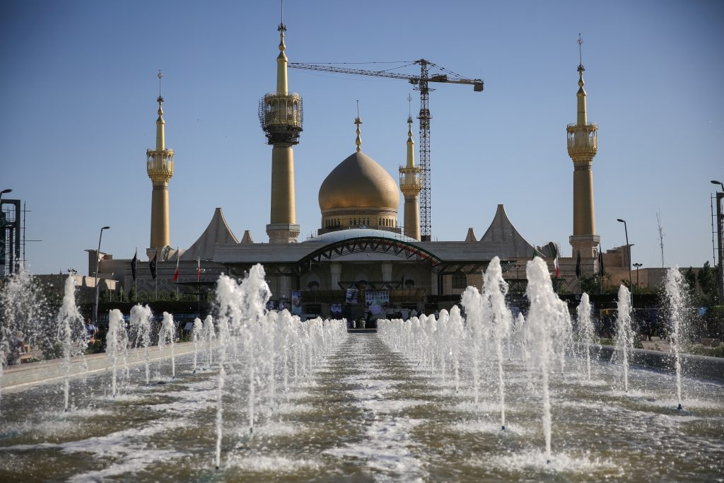 File photo from Reuters shows the mausoleum of the founder of the Islamic Republic Ayatollah Ruhollah Khomeini.