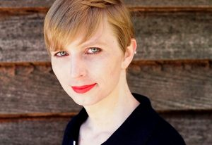 Chelsea Manning, the transgender U.S. Army soldier responsible for a massive leak of classified material, poses in a photo of herself for the first time since she was released from prison and post to social media on May 18, 2017. Photo by Chelsea Manning/CC BY-SA/Handout via Reuters