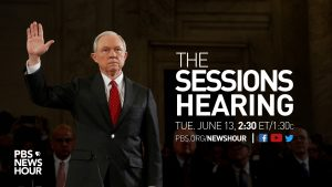 The PBS NewsHour will air live special coverage on Attorney General Jeff Sessions testimony before the Senate Intelligence Committee.