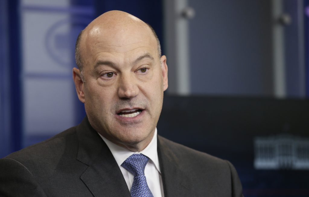 File photo of White House economic adviser Gary Cohn by Kevin Lamarque/Reuters