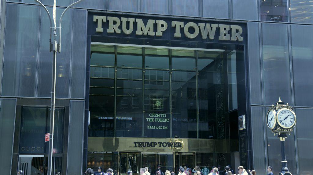 Photo of Trump Tower. Photo by Jenna Gray