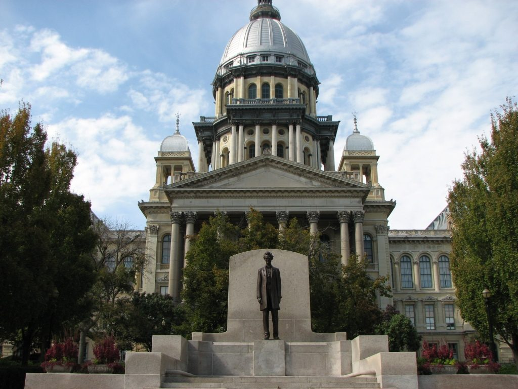 Illinois approves spending plan ending nations longest budget illinois state capitol malvernweather Image collections