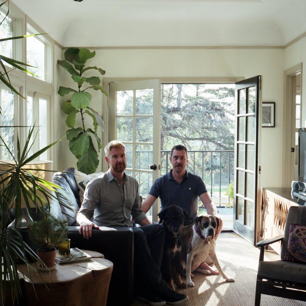Colin Dusenbury & Thaddeus Herrick, Los Angeles, California.