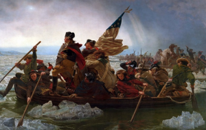 'Washington Crossing the Delaware' by Emanuel Leutze (American, Schwäbisch Gmünd 1816–1868 Washington, D.C.) via The Metropolitan Museum of Art is licensed under CC0 1.0