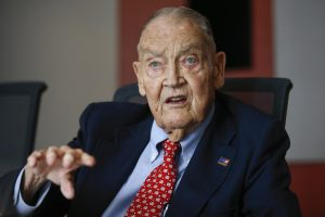 Jack Bogle, founder and retired CEO of The Vanguard Group, speaks during the Global Wealth Management Summit in New York June 17, 2014. Photo by Shannon Stapleton/Reuters