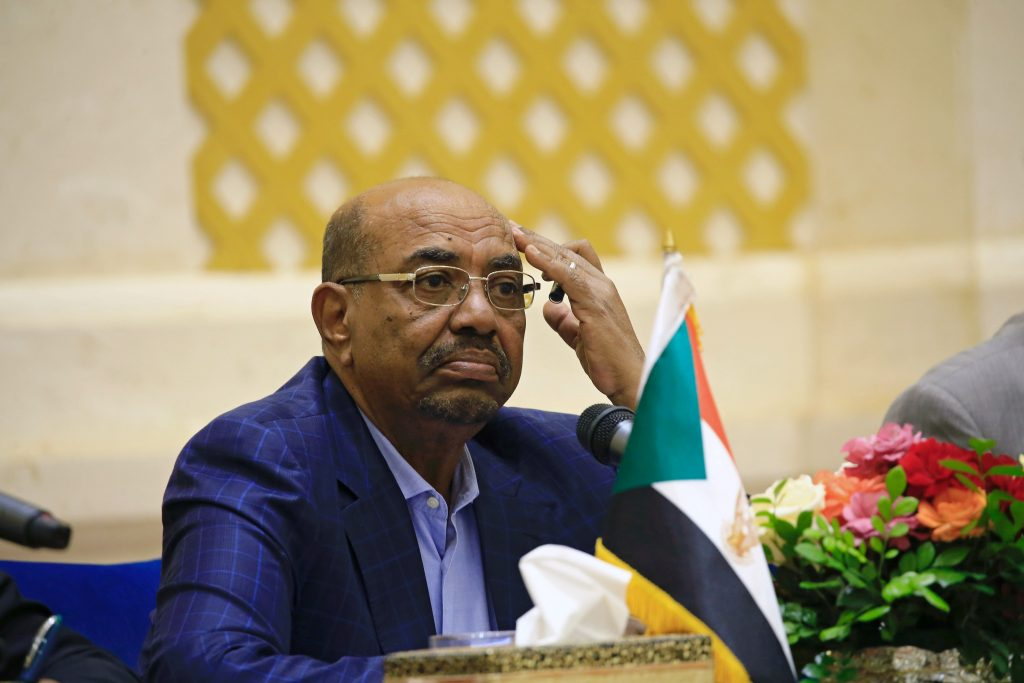 Sudan's President Omar Hassan al-Bashir listens during a news conference at the palace in Khartoum, Sudan. Photo by Mohamed Nureldin Abdallah/Reuters