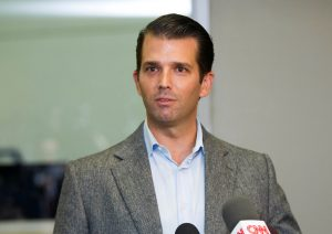 File photo of Donald Trump Jr. by Brian Losness/Reuters