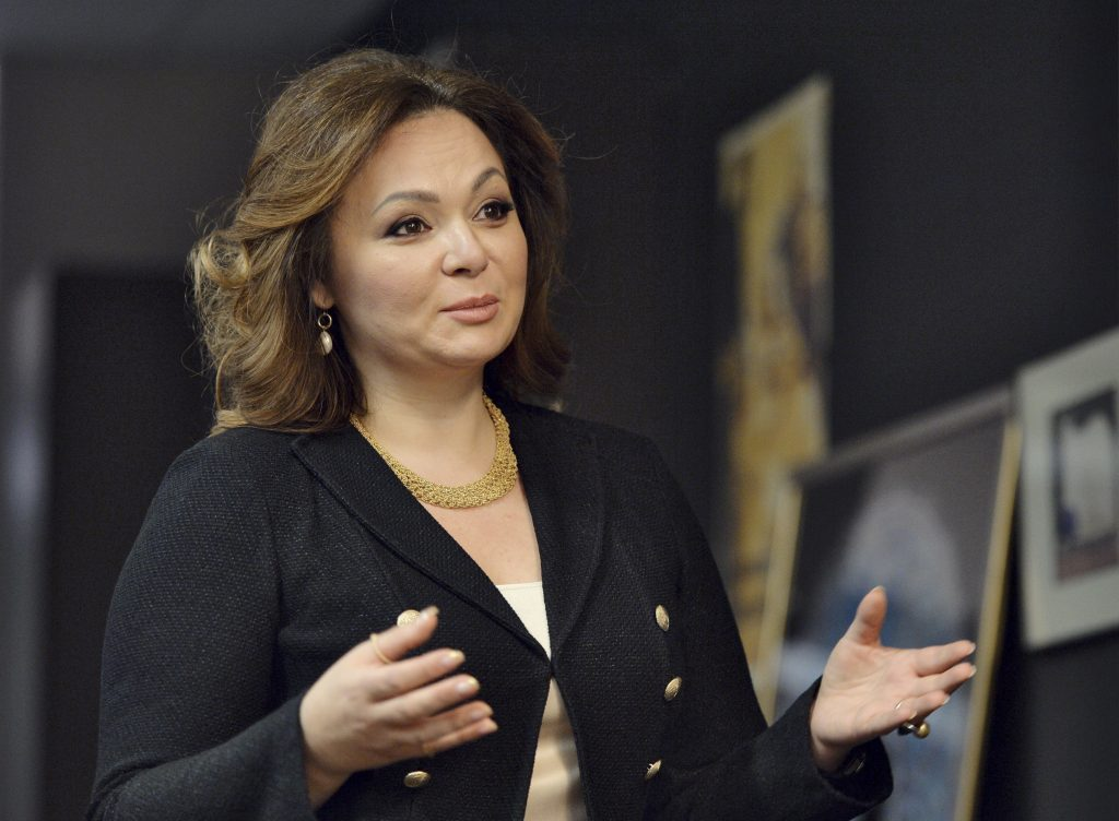 Russian lawyer Natalia Veselnitskaya speaks during a 2016 interview in Moscow, Russia. Photo by Kommersant Photo/Yury Martyanov via Reuters