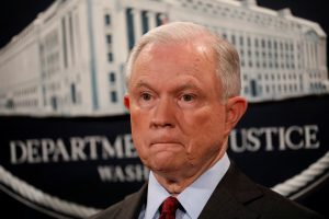 File photo of U.S. Attorney General Jeff Sessions by Aaron P. Bernstein/Reuters