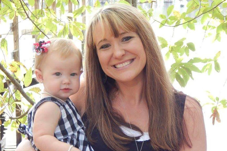 When her pregnancy hit a crisis, Ginger Peebles rushed to her hospital in Swainsboro, Ga., where her daughter Brenlee Pepin was born healthy. But that hospital closed a year later, a victim of the financial problems plaguing rural areas. (Family photo courtesy of Kimberly Howell)