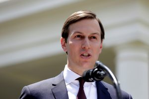 Senior Adviser to the President Jared Kushner speaks outside the West Wing of the White House in Washington, U.S., July 24, 2017. REUTERS/Joshua Roberts - RTX3CQGV