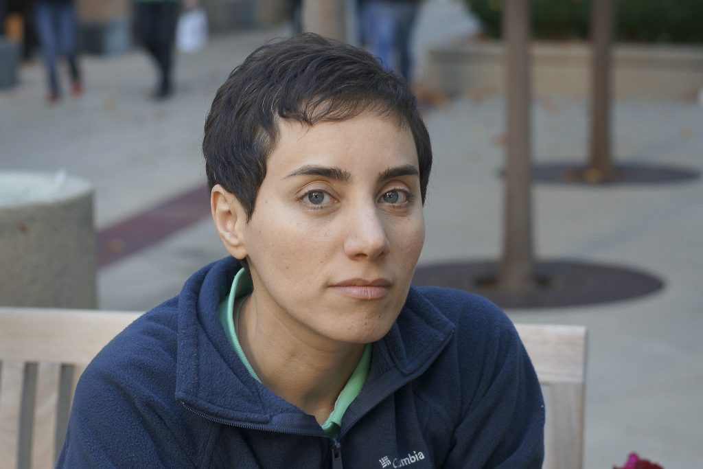Professor Maryam Mirzakhani, the recipient of the 2014 Fields Medal, the top honor in mathematics. She was the first woman in the prize's 80-yearhistory to earn the distinction.Photo courtesy of Stanford News Service.
