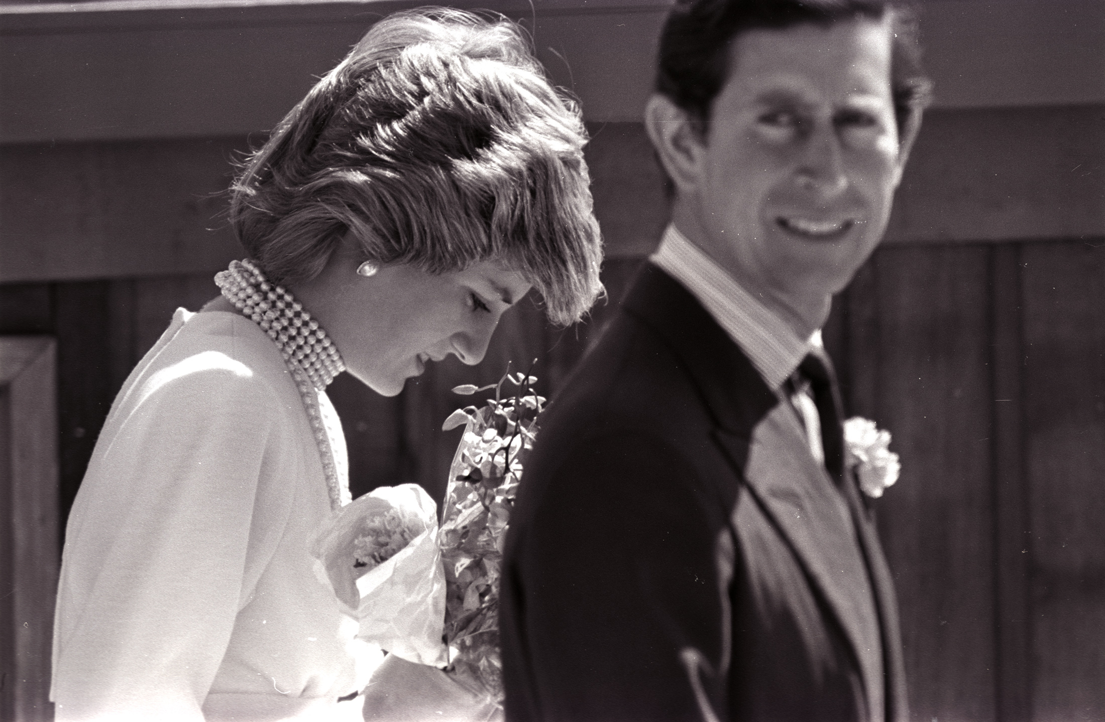Princess Diana and Prince Charles visit Vancouver on May 6, 1986. Photo by Mike Blake/Reuters