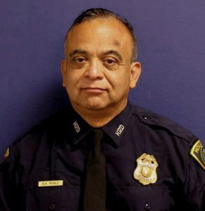Photo of Sgt. Steve Perez from the Houston Police Department via Reuters