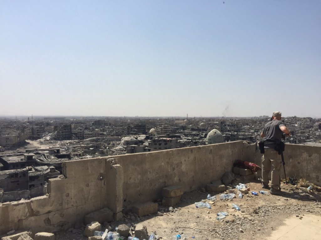 Photo of Mosul in July 2017 by Marcia Biggs