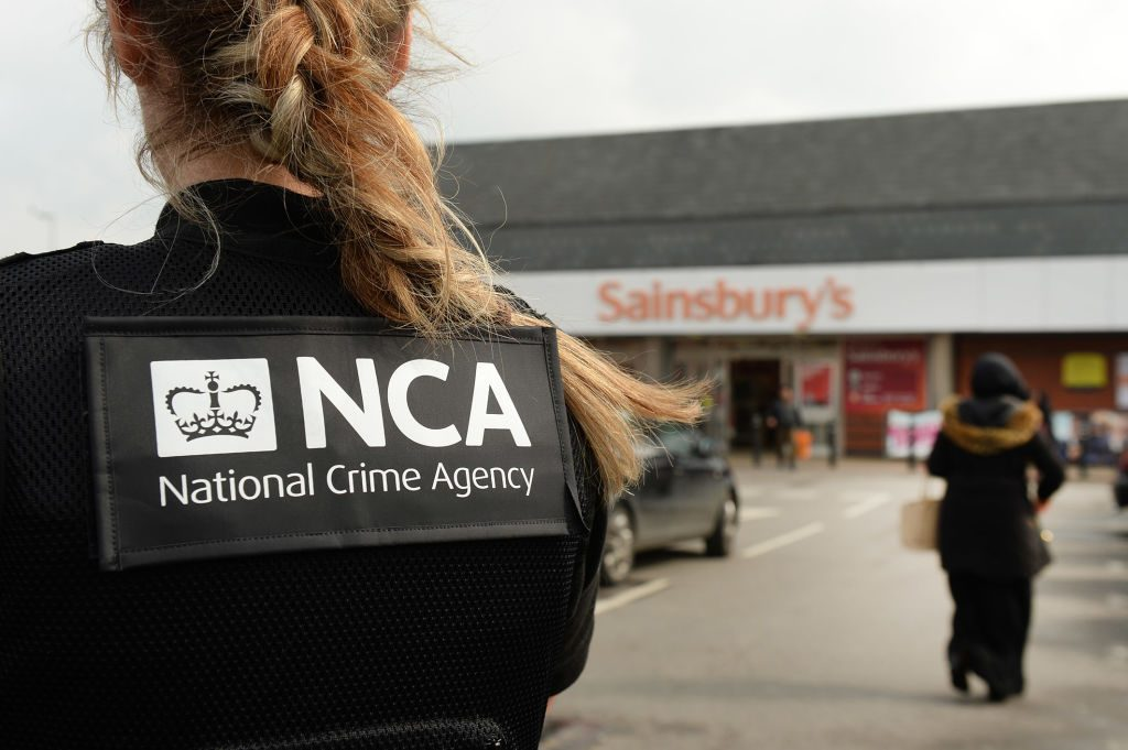 LUTON, UNITED KINGDOM - MARCH 23: A covert patrol by the National Crime Agency is seen in Bury Park at around 11.00hrs on March 23, 2017 in Luton, England.    Faces hidden by request from the officers.  PHOTOGRAPH BY Tony Margiocchi / Barcroft Images  London-T:+44 207 033 1031 E:hello@barcroftmedia.com - New York-T:+1 212 796 2458 E:hello@barcroftusa.com - New Delhi-T:+91 11 4053 2429 E:hello@barcroftindia.com www.barcroftimages.com (Photo credit should read Tony Margiocchi/Barcroft Images / Barcroft Media via Getty Images)