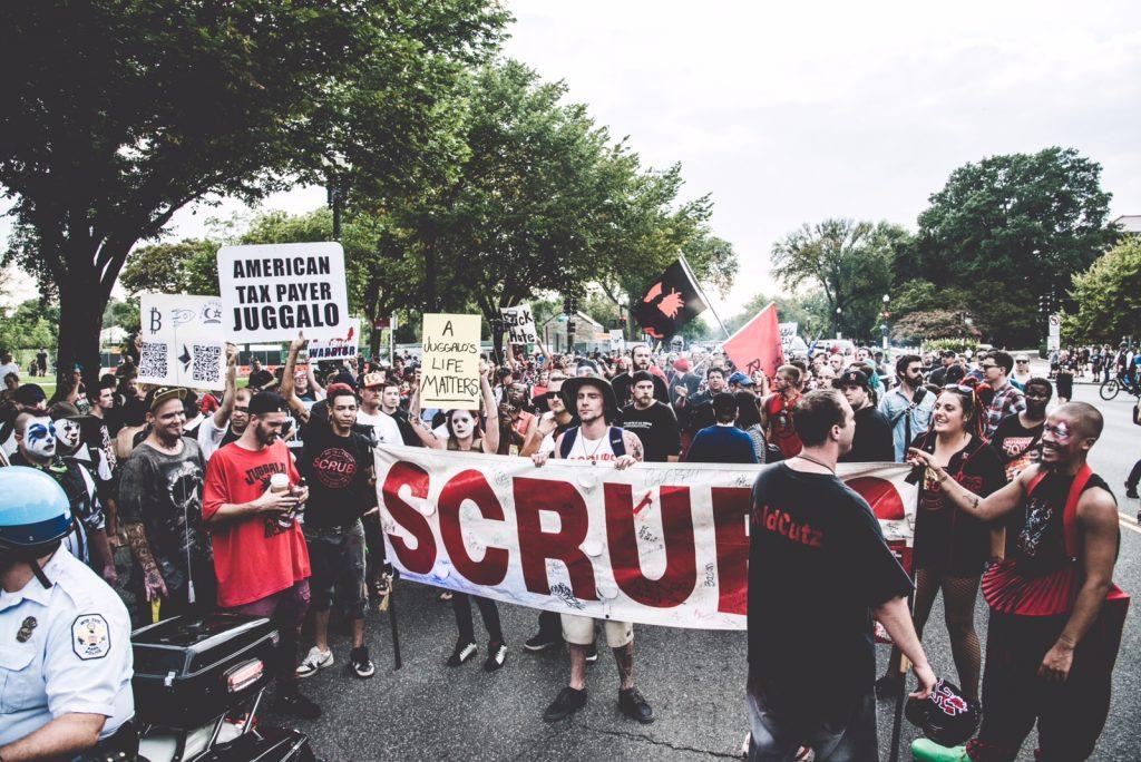 Juggalos march on Washington. Credit: Joe Goldberg