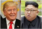 A combination photo of U.S. President Donald Trump and North Korean leader Kim Jong Un. Photos by Kevin Lamarque and KCNA/Handout via Reuters