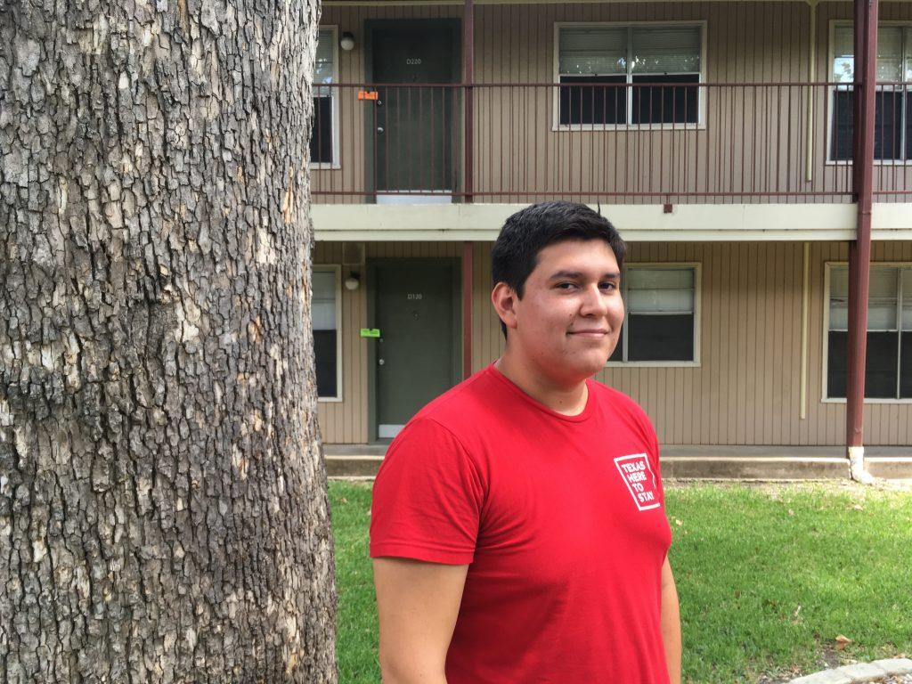 Mizraim Belman Guerrero, age 19, sophomore at Georgetown University. Photo: Sarah Gonser/The Hechinger Report