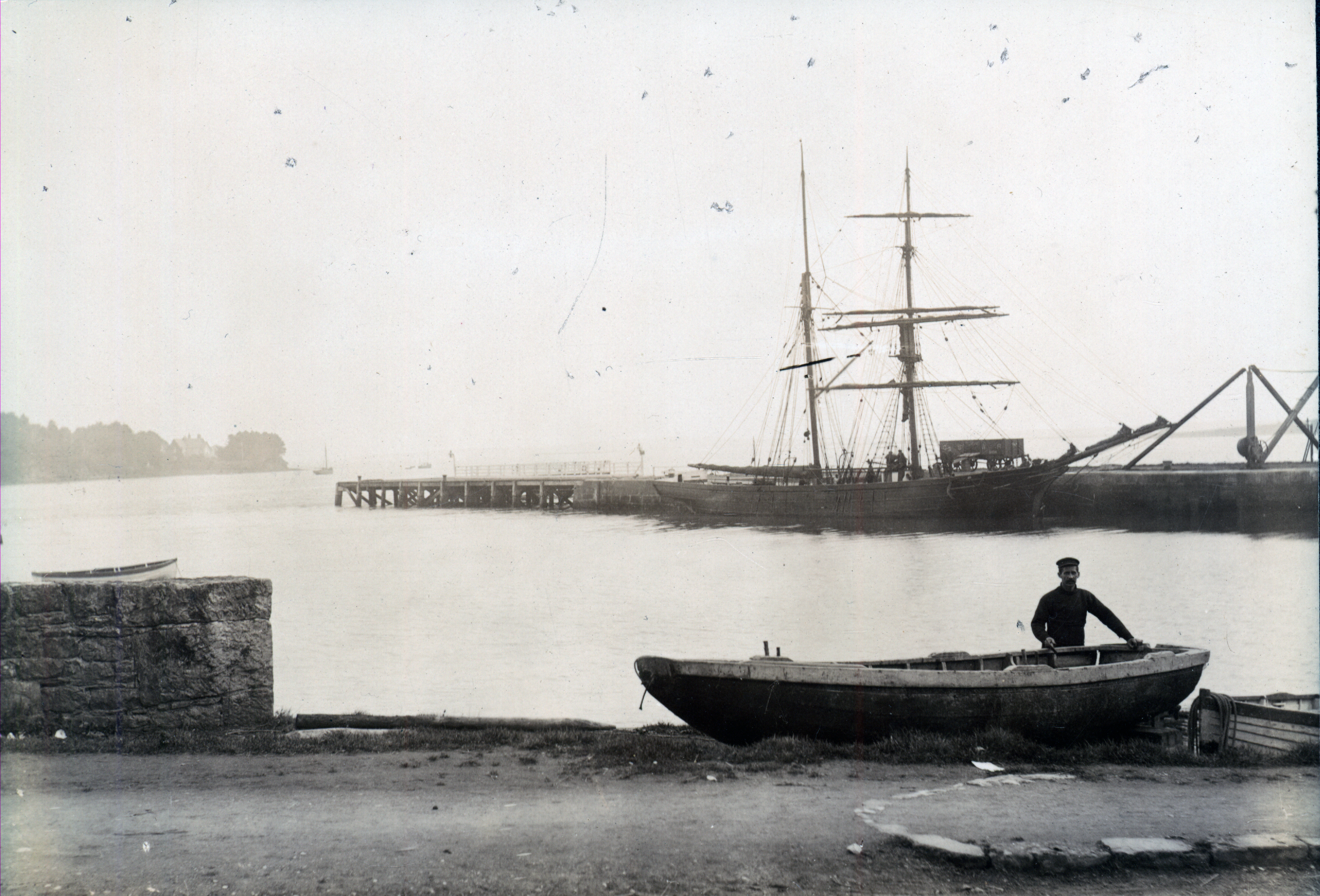 The Abbey men fished up river from Limerick City, and the Strand men fished down river (until 2006), according to historian Sharon Slater. Photo courtesy of the Limerick Archives