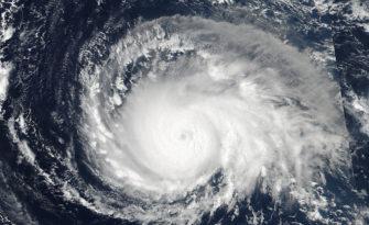 On Sept. 4, NASA-NOAA's Suomi NPP satellite captured this view of Hurricane Irma as a Category 4 hurricane approaching the Leeward Islands. Photo by NOAA/NASA Goddard MODIS Rapid Response Team