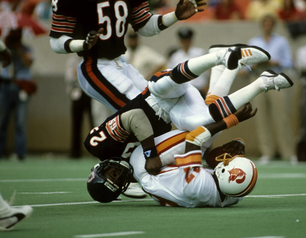 Chicago Bears safety Dave Duerson