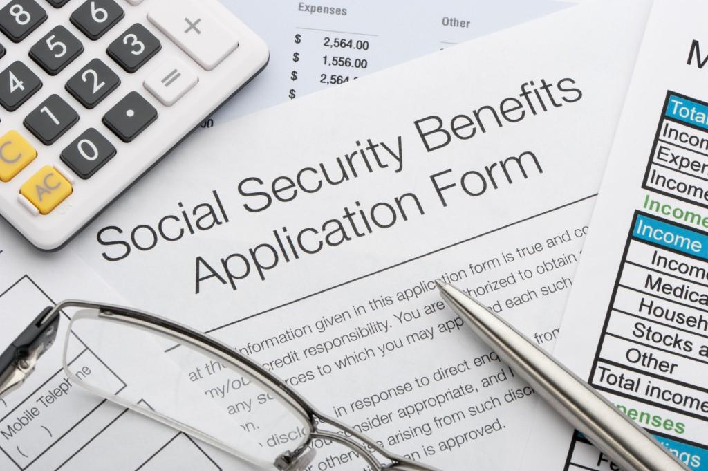 Social Security application