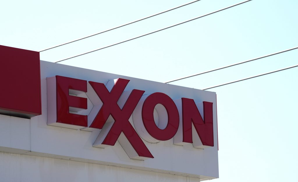 The Exxon Mobil gas station in Denver, Colorado United States July 28, 2017. Photo by Rick Wilking/REUTERS