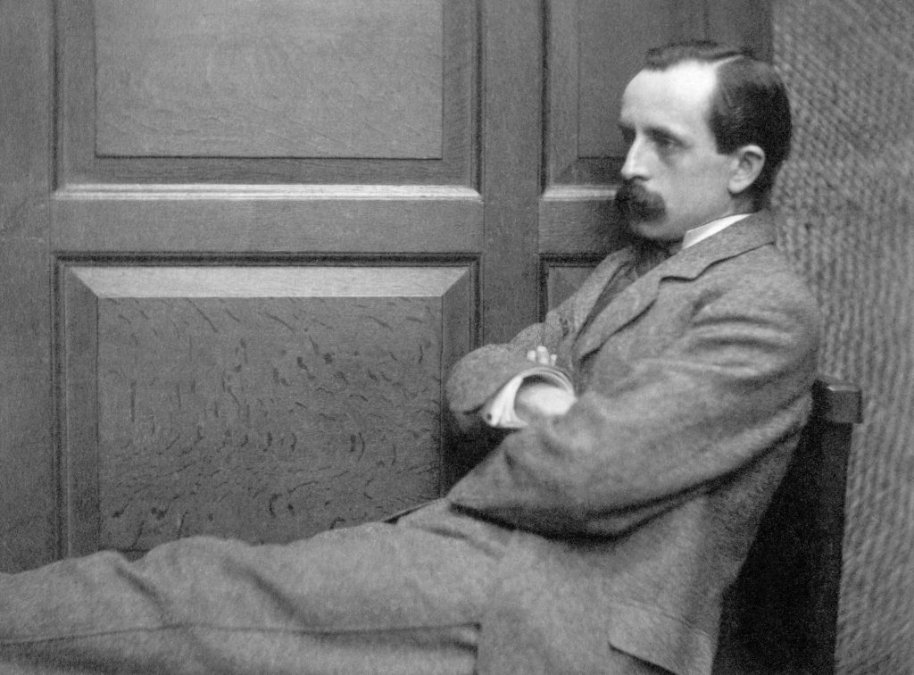 Sir James Barrie (Photo by © Historical Picture Archive/CORBIS/Corbis via Getty Images)