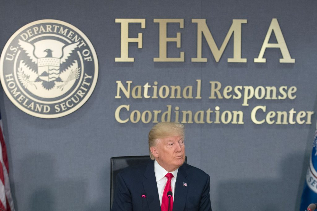 The House GOP had planned to cut disaster relief funds to help cover the cost of the border wall, but that option may now be off the table.