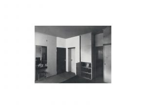 """""""Dressing Room,"""" taken by Lucia Moholy. Courtesy of a private collection"""
