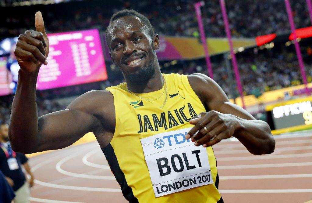 Usain Bolt, beloved star of track and field, runs final race