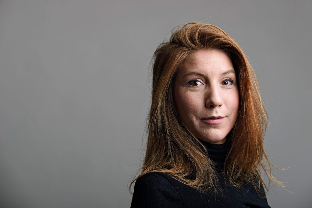 "Swedish journalist Kim Wall was aboard a submarine ""UC3 Nautilus"" before it sank. Photo is a handout from Tom Wall via Reuters"