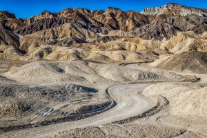 Twenty Mule Team Canyon in Death Valley, California. Photo by Mobilus In Mobili/via Flickr