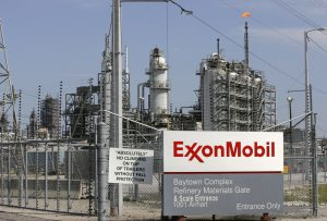 A view of the Exxon Mobil refinery in Baytown, Texas September 15, 2008.  Photo by Jessica Rinaldi/REUTERS
