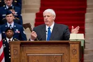 West Virginia Gov. Jim Justice . Photo by Perry Bennett via Wikimedia Commons.