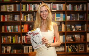 "Ann Coulter signs copies of her book ""Adios America"" at Books and Books on March 10, 2016 in Coral Gables, Florida. (Photo by Aaron Davidson/Getty Images)"