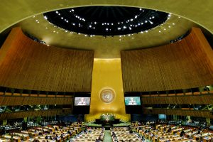 The U.N. General Assembly general debate begins Sept. 19. Photo by Eduardo Munoz/Reuters