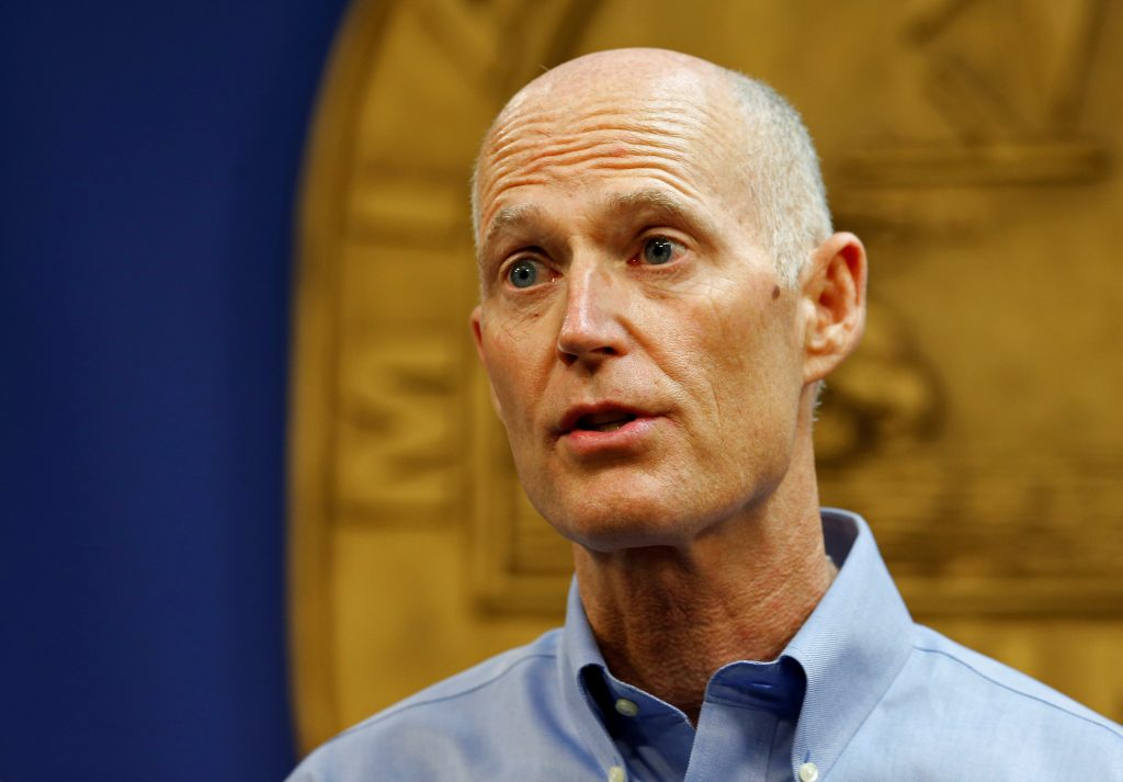 File photo of Florida Gov. Rick Scott by Joe Skipper/Reuters