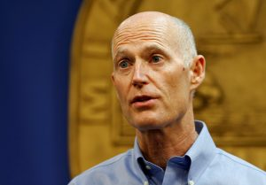 File photo of Florida Gov. Rick Scott by Joe Skipper/Reuters